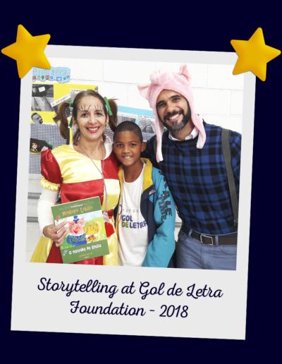 Storytelling at Gol de Letra Foundation – 2018