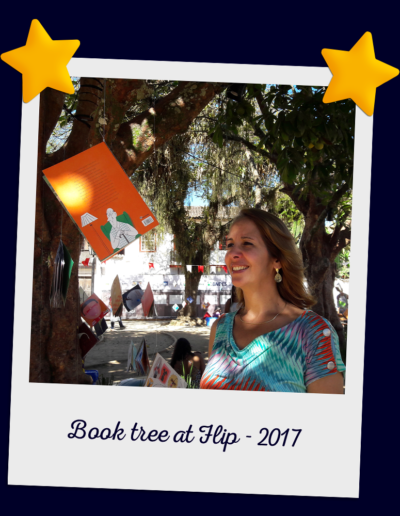 Book tree at Flip - 2017