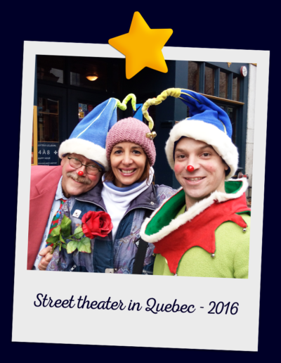 Street theater in Quebec - 2016