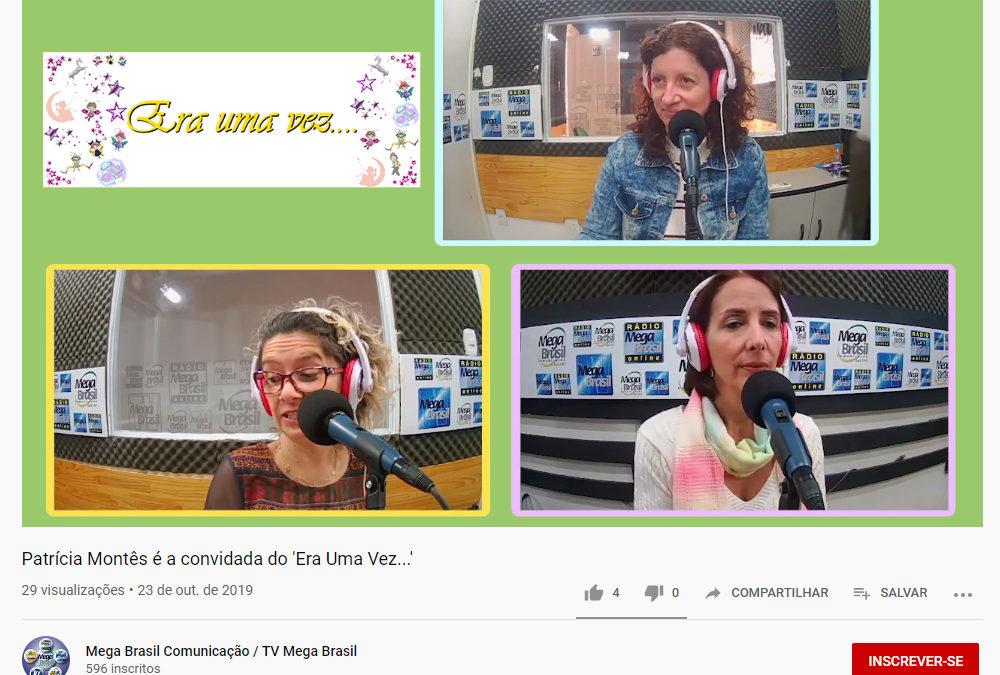 TV MEGA BRASIL | Patrícia Montês é a convidada do 'Era Uma Vez…'